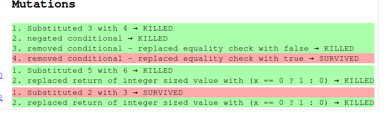 screenshot rapport de test 2